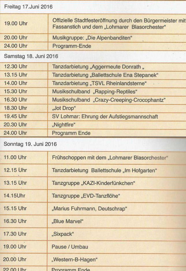 2016-Programm